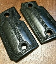"""Walnut Wood Grips, """"The Gentleman"""",'Stained Black - Will fit Sig Sauer P938"""