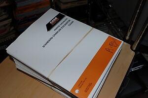 CUSTODIA cx240 Crawler Excavator TrackHoe Spare Part Manual 2002 2003 2004 2005