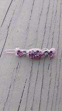 Fashion Candy Crystal Rhinestone Barrette Hair Clips Clamp Hairpin