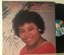 TESSIE HILL Without You...What Would I Do LP MCA-3204 (1980) VG- VINYL