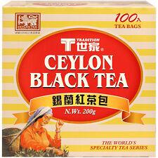 TRADITION CEYLON BLACK TEA (100 tea bags) n . wt  200 g