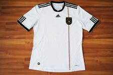 SIZE LARGE GERMANY NATIONAL TEAM 2010-2011-2012 HOME FOOTBALL SHIRT JERSEY WHITE