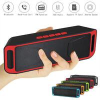 Bluetooth Speakers Portable Wireless MP3 Player USB TF Card FM Radio Stereo Mini