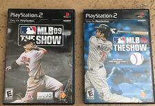 Sony PlayStation 2 MLB The Show 09 and 10
