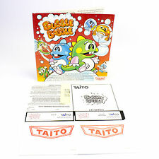 BUBBLE Bobble per PC da Taito in Big Box Software, 1988, CIB, in buonissima condizione, Tandy/IBM