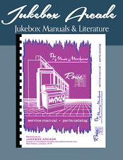 New! Rowe Model Mm-1 Jukebox Service Manual / Parts Catalog with Troubleshooting