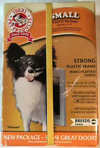 "Ideal Pet Products - Small Dog - Plastic Pet Door Flap Size 5"" X 7"" - New"