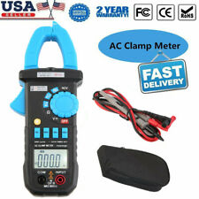 Digital Clamp Meter Tester AC Volt Amp Multimeter Auto Ranging Current 600A LB