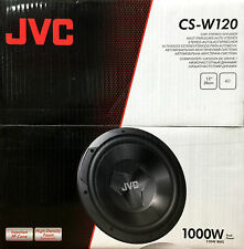 NEW JVC CS-W120 DRVN Series Single Voice Coil 4 Ohm Car Audio Subwoofer CSW120