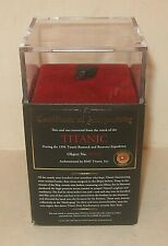 Titantic Relic Coal Recovered from Wreck Object No. 94/0036 Authenticated by Rms