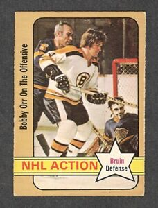 1972-73 BOBBY ORR IA #58 EX OPC ** Bruins HALL OF FAME Superstar NHL Hockey Card