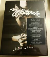 WHITESNAKE - Slide It In -The 2019 Ultimate Special Edition - 6 CD + DVD - Super