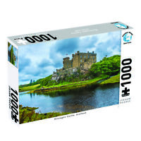 Puzzlers World ~ Artistic Jigsaw 1000pc Puzzle ~ Dunvegan Castle Scotland