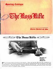 Ross 1909 Rifle Sporting Gun Catalog