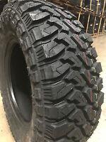 4 NEW 33x12.50R22 Centennial Dirt Commander M/T Mud Tires MT 33 12.50 22 R22 LRF