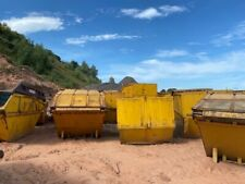 More details for waste skips, yellow, 8-12 yards, used good condition.