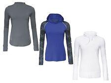 Damen Laufsportarten Funktionsshirt Sportshirt Shirt Langarm