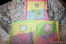 Laura Ashley Baby Girls Nursery Accessories Quilted Wall Decor Panels B7
