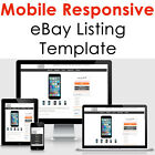 Ebay Listing Template Mobile Responsive Auction Compliant 2021 Design Html Https