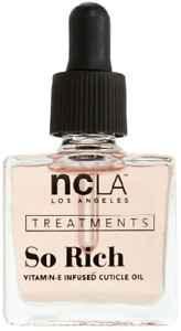 NCLA Treatments So Rich Vitamin-E Infused Cuticle Oil 13.3ml - Peach Vanilla