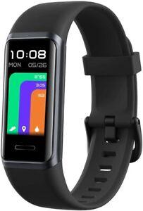 DG Band Fitness Tracker Activity Heart Rate Monitor IP68 Waterproof Watch Alexa