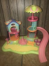 LPS Whirl Around Playground Playset with Swings, Slide, Bed - Littlest Pet Shop
