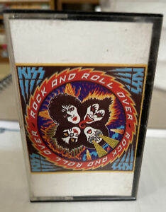 kiss rock and roll over cassette