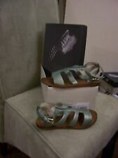 GEOX RESPIRA SANDAL SIZE 5 IN SAGE GREEN , NEW