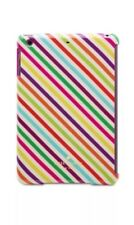 Kate Spade iPad Air Snap-On Case Protector Cover Candy Stripe Genuine