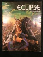 Vintage Eclipse The Magazine (1981) Issue 1