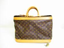 Auth LOUIS VUITTON Monogram Leather Duffle Bag Hand Bag Cruiser Bag 40 #7040