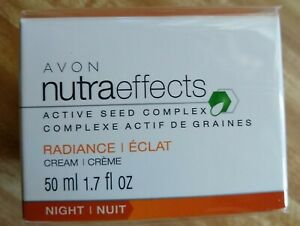 AVON NUTRA EFFECTS ~ RADIANCE RENEWING NIGHT CREAM 50ml    *BRAND NEW*