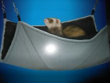 SuperPet Ferret Chinchilla Rat Huge Fuzz E Floor Plush Cage Hammock