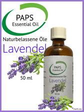 PAPS Lavendelöl 50ml - 100% reines, zertifiziertes, ätherisches Öl