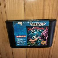 SPLATTERHOUSE 2 Sega Genesis Game AUTHENTIC Cartridge TESTED Splatter House Two