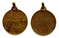 Medaglietta Tassa Per Cani - Comune Di Fabbrico Bronzo Diametro cm 2,8
