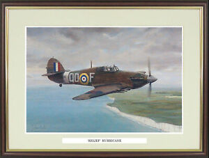 """Hawker Hurricane picture """"Relief Hurricane"""" by Graham Cooke - NGN134"""