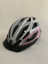 Trek Youth Cycling Helmet ZTU Ziptite Adjustable Pink Silver Visor Road Bike MTB