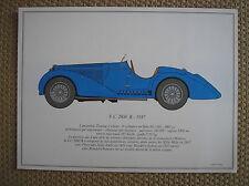 ALFA ROMEO 8 C 2900 B 1937 PORTFOLIO SCALA 1/18 SOFAR 1963 FRANCOIS DALLEGRET
