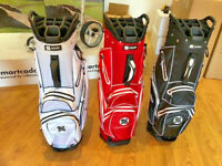 SMARTCADDY 2019 WATERPROOF CART BAG 14 WAY DIVIDER 7 WATERPROOF POCKETS