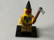 LEGO - MINIFIGURINE DE COLLECTION - SERIE 10 : TOMAHAWK WARRIOR : COL10-5