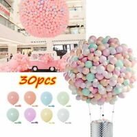 30pcs 5Inch Latex Balloons Baby Shower Birthday Wedding Party Home Decoration Sd