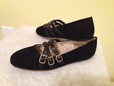 New LANDS' END Size: 7, UK: 5 Girl's Shoes Dressy Black. Туфли Для Девочки