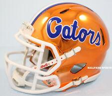 FLORIDA GATORS - Chrome Alternate Riddell Speed Mini Helmet