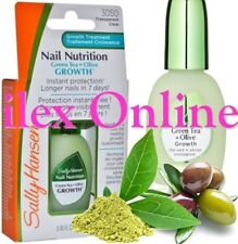 SALLY HANSEN NAIL NUTRITION GREEN TEA & OLIVE GROWTH TREATMENT #3050 CLEAR
