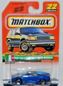 MATCHBOX TREASURE HUNT MB 2000 LOGO LAMBORGHINI DIABLO #22