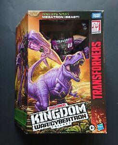 Transformers Netflix Trilogy Kingdom Beast wars MEGATRON WFC-K10 New in box