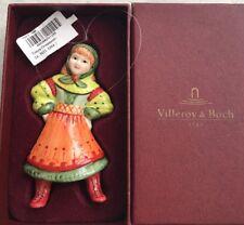 Villeroy & Boch Weihnachten Anhänger - Tonya Ornaments - Schneemädchen