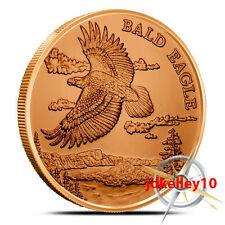 American Wildlife Series | Bald Eagle | 1 oz .999 Copper Round Collectors Coin