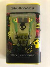 Skullcandy Smokin Buds In-Ear Earbuds in Rasta - New